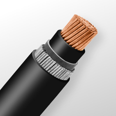 کابل های قدرت تک رشته مسی و آلومینیومی زره دار