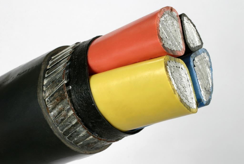 کابل های قدرت چند رشته ای زره دار